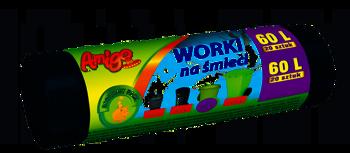 Amigo Worki na śmieci LDPE 60L 20szt.