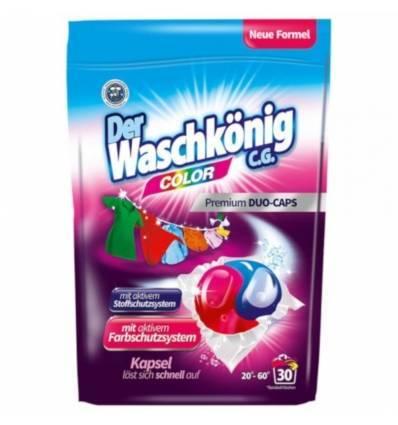 Der Waschkonig kapsułki do prania kolor DUO 30 szt