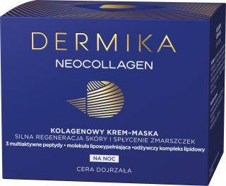 Dermika NEOCOLLAGEN Krem-maska do silnej regeneracji skóry noc
