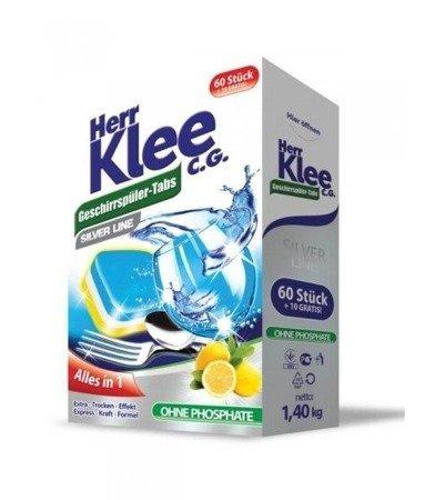 Herr Klee Tabletki do zmywarki SILVER LINE 70 szt
