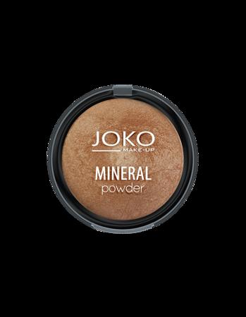JOKO MINERAL Mineralny puder wypiekany DARK BRONZE 06