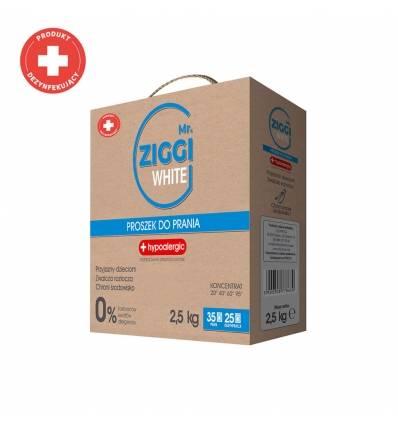 Mr. ZIGGI proszek do prania White 2,5 kg