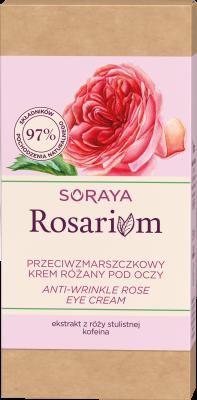 Soraya Rosarium Przeciwzmarszczkowy krem różany pod oczy