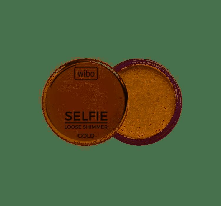 Wibo Rozświetlacz Selfie Loose Shimmer GOLD